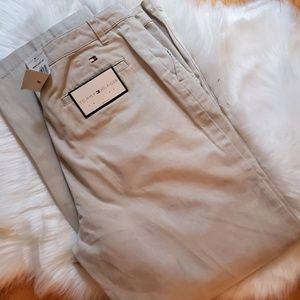 Ladies Tommy Hilfiger khaki Pants Size 16 NWT